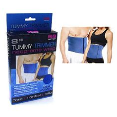 Tummy Trimmer-Waist Trimmer For Men and Women, 8in, Blue, Fully Adjustable,One Size Fits All, Burn Belly Fat Fast, Abdominal Toning Belt, Tighten Stomach Skin, Firm Your Abdominal Muscles, Lower Back Support, Sweat Off Belly Fat Today Belly Fat Burner Waist Trimmer Belt http://www.amazon.com/dp/B00PIYLMXC/ref=cm_sw_r_pi_dp_RnZWub1P87B4G
