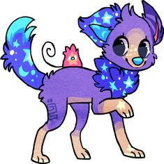 Starpuppy and pet thing by griffsnuff on deviantART