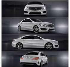 Mercedes Benz CLA. On my radar!