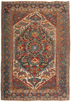 "Antique Tabriz Rug Size: 4' 6"" x 6' 8"""