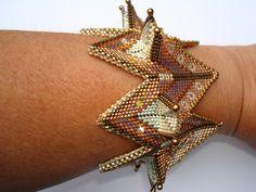 Fortuneteller Bangle in metallic colors - Ceebees Treasures