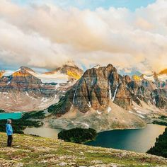 """""""This self-portrait was taken in Mount Assiniboine Provincial Park (BC Canada). Last summer my family and I hiked about 70km in 3 days through the backcountry of Alberta and British Columbia. this was our first time doing a multi day backpacking trip and we absolutely loved it. Being rewarded with this breathtaking view after hiking for 2 days straight was nothing less than amazing"""" @celestineaerden Happy travels  #timeoutsociety #traveleroftheweek Capturado por timeoutsociety"""