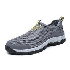 Homme Randonnée Loisirs Chaussures à Enfiler Extérieur Baskets breathableclimbing Chaussures