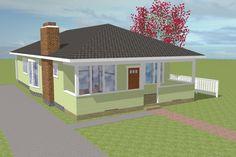 Photo Plan #423-55 - Houseplans.com
