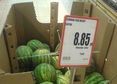 Jakieś niedojrzałe i spuchnięte te ziemniaki...:) Watermelon, Names, Humor, Fruit, Board, Funny, Cheer, Humour, The Fruit