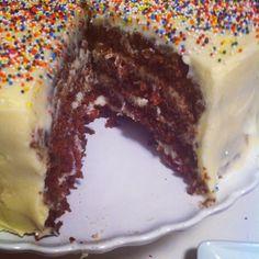 the easiest, six ingredient chocolate cake.  bonus: it's vegan