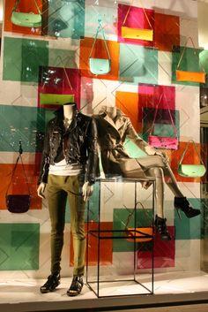 As backdrop fashion window display, window display design, shop window di. Fashion Window Display, Window Display Design, Shop Window Displays, Store Displays, Design Garage, Shop Front Design, Design Shop, Store Design, Shop Interior Design