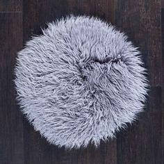 The Wool Company Pewter Grey, Seat Pads, Cushion Pads, Shag Rug, Bar Stools, Cushions, Wool, Accessories, Shaggy Rug