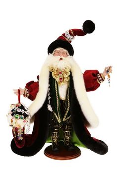 Mark Roberts 'Diamonds Are Forever' Santa Figurine available at #Nordstrom