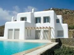 Slikovni rezultat za greek style house design | more | Pinterest | House