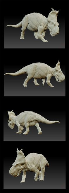 Pachyrhinosaurus canadensis - 3D model by FabrizioDeRossi