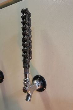 Motorcycle Chain Tap Handle by TheSwig on Etsy