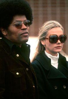 Clarence Williams III and Peggy Lipton