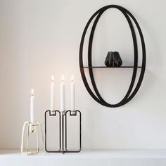 There is beauty in simplicity / be&liv Candelabra, Wall Shelves, Candle Sconces, Halo, Wall Lights, House Design, Candles, Instagram Posts, Beauty
