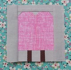 Popsicle Quilt Block Pattern   Treat yourself this summer with this sweet block pattern!