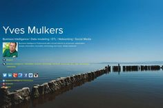 Yves Mulkers' page on about.me – http://about.me/YvesMulkers