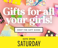 Luscious favourites for stylish holiday gift guides Christmas Gift Guide, Holiday Gifts, Christmas Holidays, Christmas Gifts, Kate Spade Saturday, Gifts For Women, Ads, Xmas Gifts, Christmas Vacation