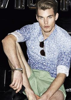 New Yorker Menswear Spring-Summer 2013: Ode to the stamped & Long life flowers