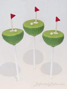 golf #cakepops