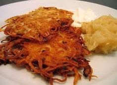 This recipe has been a family favorite for over 30 years, and I usually serve them on Hanukkah.  However they make such an excellent side dish, my family often requests them throughout the year.  These are delicious!I have modiefied this recipe from the tradional recipe I used for many years to use to be Gluten free (to accomodate my recent allergy rotation diet) by illiminating the usual wheat flour and substituting with potato flour-without sacrificing any taste or quality.  I actually…