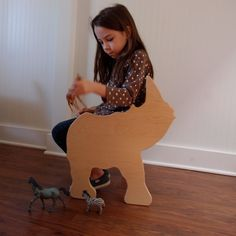 Rhino Chair ready to ship from The Child's от palomasnest на Etsy