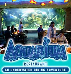 Anyone who likes #MarineLife and good food should go to The Aquarium in Houston, TX...there's only lke 4 in the U.S.