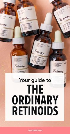 Your Complete Guide to The Ordinary's New Retinoids The Ordinary Retinoid, The Ordinary Skincare, Make Up Spray, Beauty Care, Beauty Hacks, Diy Beauty, Beauty Ideas, Homemade Beauty, Beauty Secrets