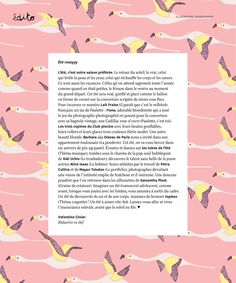 Collab Season Paper X Paulette Magazine / Illustrations Season Paper Collection / http://www.seasonpapercollection.com/