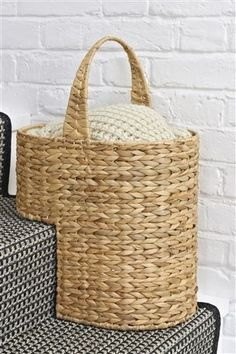 A stair basket - yes please!