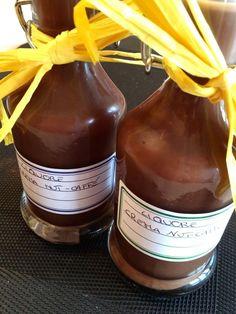 liquore nut-caffè ovvero la ricetta velocissima di un goloso liquore alla nutella e caffè