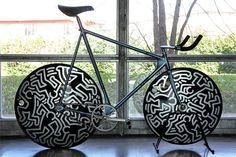 Keith Haring x Cinelli Laser