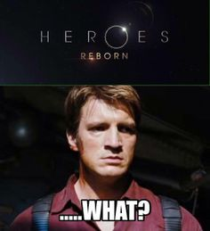Son of a....! Heroes was great the first couple of seasons, but it went downhill fast.