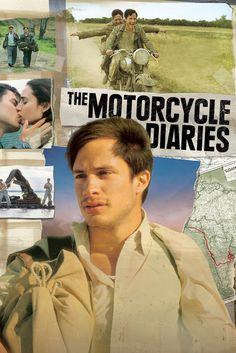 The Motorcycle Diaries Movie Poster - Gael García Bernal, Rodrigo De la Serna, Mía Maestro  #TheMotorcycleDiaries, #MoviePoster, #Drama, #WalterSalles, #GaelGarc, #ABernal, #AMaestro, #RodrigoDelaSerna