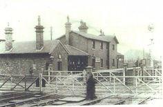 Nunthorpe Station c1887 Home History, Old Train Station, Middlesbrough, North Yorkshire, Boro, Ww2, Cleveland, Trains, Nostalgia