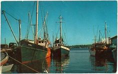 1950s fire #island, ny, li, fishing boat #hiwal view #postcard,  View more on the LINK: 	http://www.zeppy.io/product/gb/2/200792136939/