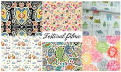 Fabric Friday: Festival prints | Mollie Makes