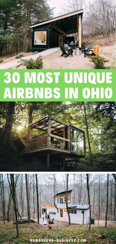 Looking for a cool and unique place to stay in Ohio? Here are 30 of the best Airbnbs for every budget! Don't just settle with a hotel, try something fun and interesting to make the most our of your stay. Check out these amazing airbnbs on Ohio! #Ohio #OhioTravel #PlacesToStay #USTravel