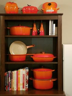 The Ikea Brusali display cabinet--perfect for showcasing your Le Creuset cookware!
