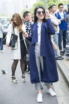 Shanghai Fashion Week street style