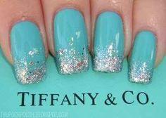 Breakfast At Tiffany's manicure