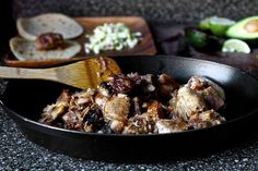 Homesick Texan from Smitten  Kitchen--a mess of carnitas