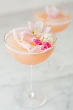 Rosé Valentine's Day Cocktail with 100 Layer Cake | Crate And Barrel