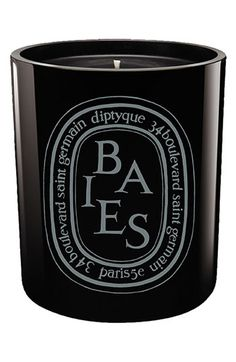 MyFAVORITE candle!  Expensive but worth it!  diptyque 'Baies' Scented Black Candle available at #Nordstrom