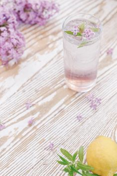 Lilac and Lemon Verbena Mojito - Lilac Season – Pineridge Hollow