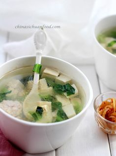 ... Baby, It's Cold Outside! on Pinterest | Soups, Tofu soup and Chowders