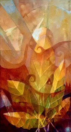 Miguel Curani. Artista plástico: Florestaoleo s/tela50x90cm