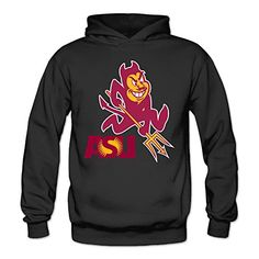 Bro-Custom ASU Arizona State University Hooded For Women Size M Black >>> See this great product.
