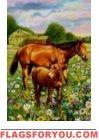 Horse Pair Garden Flag House Flags, Garden Flags, Moose Art, Horses, Animals, Decor, Animales, Decoration, Animaux