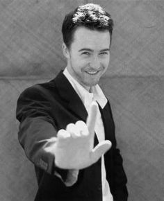 If there was ever a man who could be called beautiful, it would be Edward Norton.