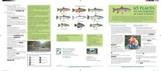 65 places to go fishing in Lane County, by the Oregon Department of Fish and Wildlife